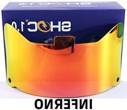 Shoc 1.0 Inferno Visor for Football & Lacrosse Helmets