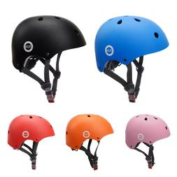 1 Pcs Adjustable Toddler Helmet Kids Bike Helmet Impact Resi