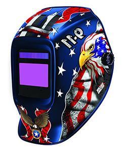 Shark 14252 Patriotic 9-11 Helmet with 800S Expert Variable