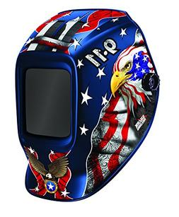 Shark 14262 Patriotic 10-Lense 9-11 Helmet with fixed shade