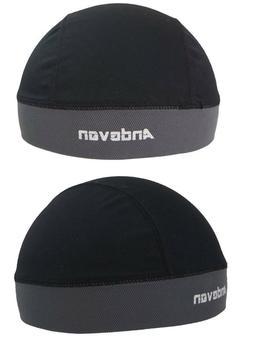 2 Andevan™ skull cap/helmet liner w/Coolmax for biking,cyc