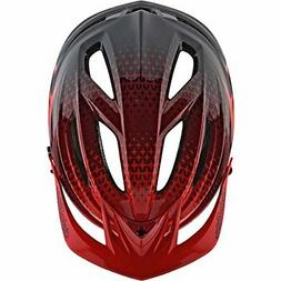 Troy Lee Designs 2018 A2 MIPS Starburst Bicycle Helmet-Red-M