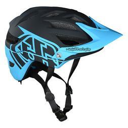Troy Lee Designs 2018 Bike A1 MIPS Helmet Classic Black/Ocea