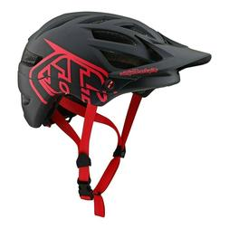 2019 Troy Lee Designs A1 Drone Helmet-Black/Red-M/L