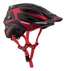 Troy Lee Designs 2019 A2 MIPS Dropout SRAM Bike Helmet Red A