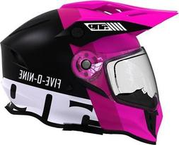 2019 509 Delta R3 2.0 Pink Dual Sport Electric Heated Helmet