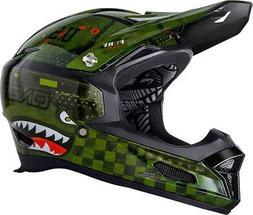 2019 O'Neal Adult Fury RL Warhawk Bicycle Full Face Helmet M