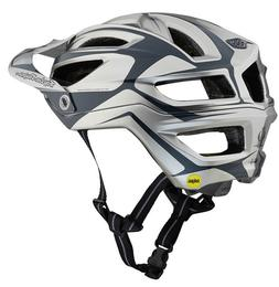 2019 TROY LEE DESIGNS TLD SILVER A2 DROPOUT MIPS MTB HELMET