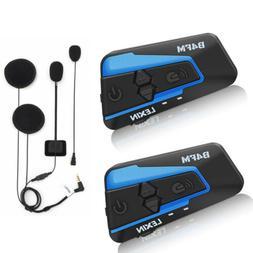 Newest LX-B4FM Motorcycle Bluetooth Helmet Headsets intercom