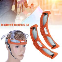 2PCS Sweatband Sweat Band Headgear Replacement For Hard Hat