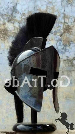 300 Spartan Helmet King Leonidas Movie Medieval Helmet Hallo