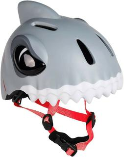 Animiles 3D Bike/Scooter/Skateboard Helmet Kids - Grey Shark
