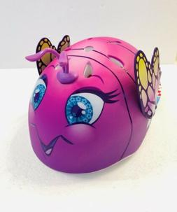 Raskullz 3D Butterfly Bike Helmet Comfortable Durable Rubber
