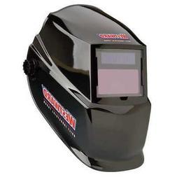 WESTWARD 4UZY8 Auto Dark Welding Helmet, 10, Black