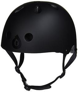 661 SixSIxOne Dirt Lid+ Skate Helmet Gloss Black One Size Fi