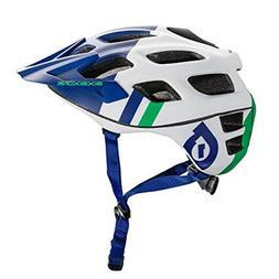 661 SixSixOne Recon MTB bicycle helmet  - blue/green - Large