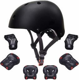 7PCS Kids Sports Safety Skating Protective Gear Set Pad Helm