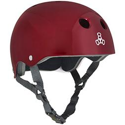 Triple 8 Brainsaver Glossy Helmet with Standard Liner