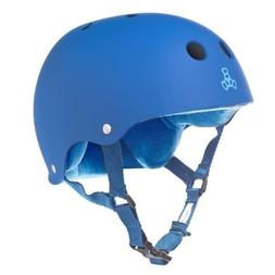 Triple Eight Helmet with Sweatsaver  Liner, Royal Blue Rubbe