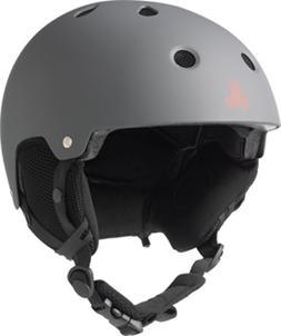 Triple 8 Brainsaver Snow Helmet with Audio, Gun, Large/X-Lar