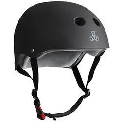 Triple 8 The Certified Sweatsaver Helmet for Skateboarding,