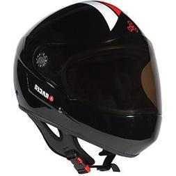 Triple 8 Downhill Racer Helmet, Black Rubber, Large/X-Large