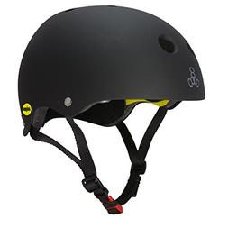 Triple 8 Dual Certified MIPS Helmet for Bike, Skate, Longboa