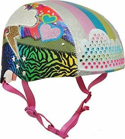 Raskullz Girls 8+ Loud Cloud Sparklez Helmet