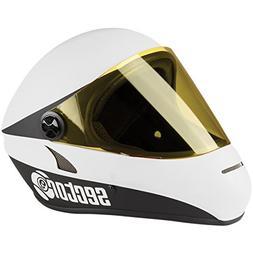 Sector 9 Drift Downhill Full Face Helmet, White