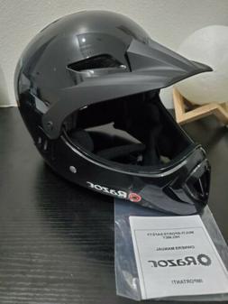 Razor 97878 Child Full Face Helmet, Gloss, Black/Medium