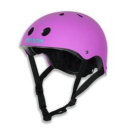KaZAM Kids Multi-Sport Helmet, Electric Purple