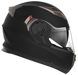 Motorcycle Modular Full Face Helmet DOT Approved - YEMA YM-9
