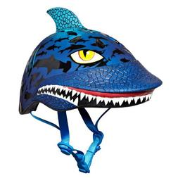 Raskullz Shark Jaws Helmet, Blue