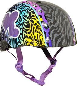 Raskullz Wild Gurrlz Helmet, Multicolored, Ages 5+