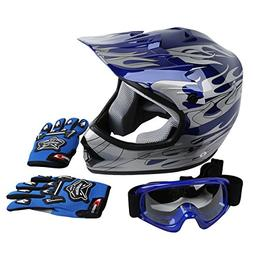 XFMT Youth Kids Motocross Offroad Street Dirt Bike Helmet Go