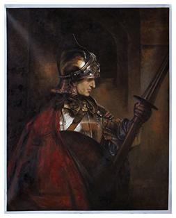 A Man in Armour  - Rembrandt high quality hand-painted oil p