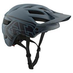 Troy Lee Designs A1 Drone Gray/Black Mountain Bike Helmet -