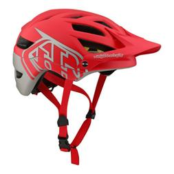 Troy Lee Designs A1 MIPS Classic Red/Silver Mountain Bike He