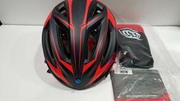 Troy Lee Designs A2 MIPS Dropout Bicycle Helmet Navy/Orange