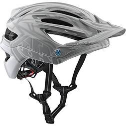 2018 Troy Lee Designs A2 MIPS Pinstripe 2 Bicycle Helmet-Whi