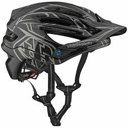Troy Lee Designs 2018 A2 MIPS Pinstripe 2 Bicycle Helmet-Gra