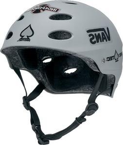 Protec Ace Matte Grey Helmet