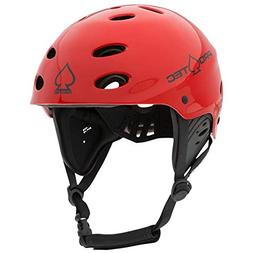 Pro-Tec Ace Wake Helmet, Gloss Red, L