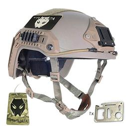 ATAIRSOFT Adjustable Maritime Helmet ABS for Airsoft Paintba