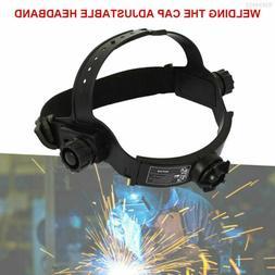 Adjustable Solar Welding Welder Mask Headband Auto Dark Dark
