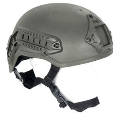 Airsoft Tactical MICH 2001 NVG Mount Helmet Replica Comm Sys
