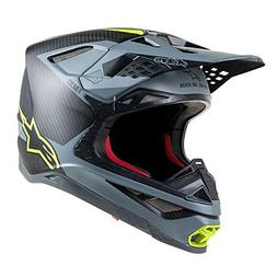 Alpine Stars Supertech S-m10 Meta MX Helmet Large Black Gray