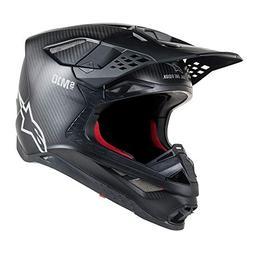 Alpine Stars Supertech S-m10 Solid MX Helmet Small Black Mat