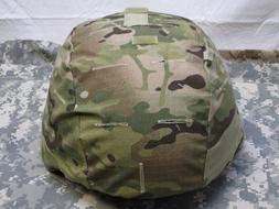 ARMY OCP MULTICAM ACH MICH MADE W/ KEVLAR HELMET COVER ONE S