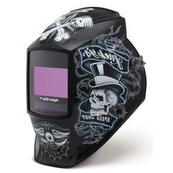 Auto Darkening Welding Helmet, Black, Digital Elite, 8 to 13